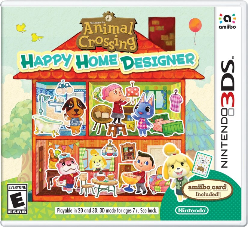 Check Out These Adorable Animal Crossing: Happy Home Designer Commercials