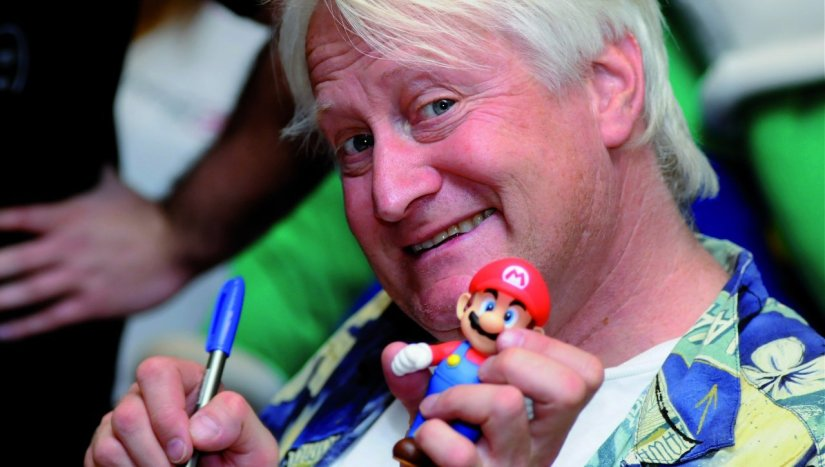 Charles Martinet The Voice Of Mario Will Be At GAME Hamleys September 10th