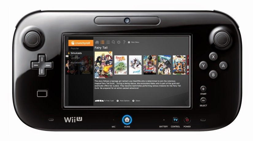 Crunchyroll App On Wii U Is Now Available To Everyone