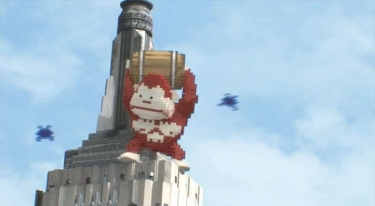 Donkey Kong Nearly Didn't Make It Into Pixels Movie