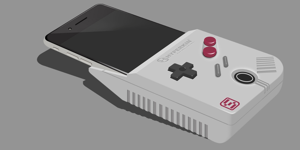 SmartBoy HyperKins Smartphone Game Boy Hardware Is Real My - Hyperkin smartphone gameboy