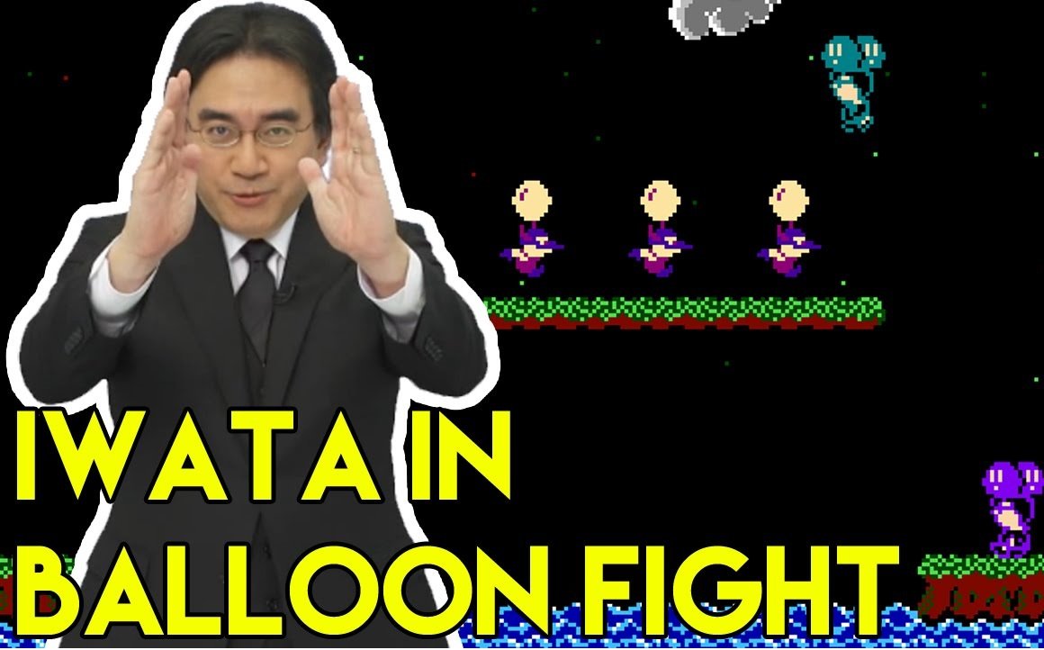 Modder Made Satoru Iwata Playable In Balloon Fight