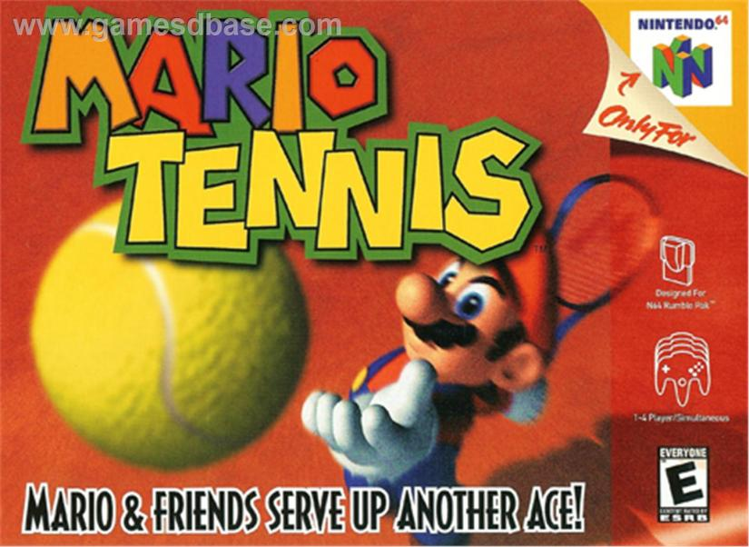 The Classic, N64 Mario Tennis Is Heading To US Virtual Console