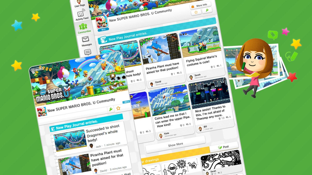 Nintendo's Miiverse Redesign Will Arrive On July29