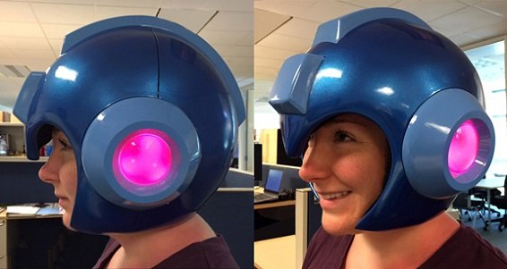Mega Man Replica Helmet Available For Preorder