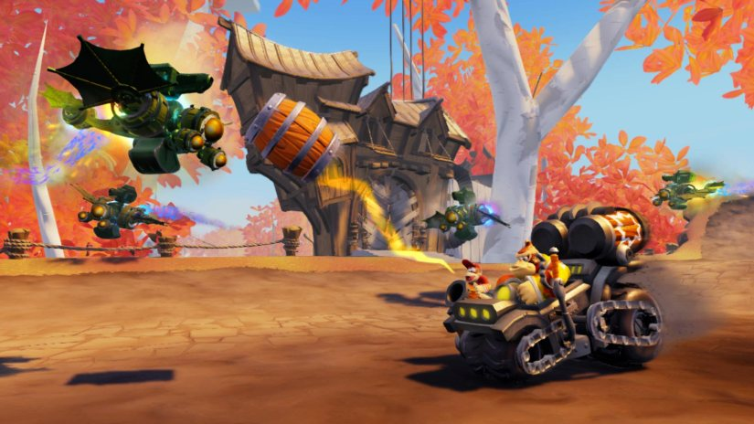 Skylanders SuperChargers Features Variants Of Amiibo Dark Versions Of Donkey Kong & Bowser