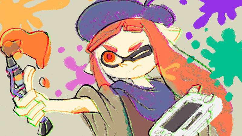 There's Going To Be A Splatoon Drawing Event On Miiverse To HonourIwata