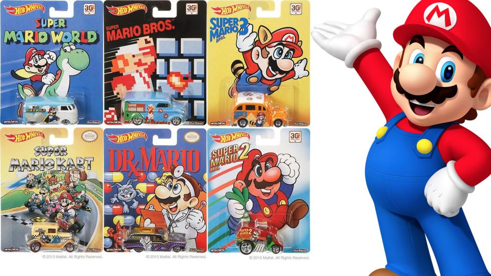 New Super Mario-Themed Hot Wheels Cars Begin Hitting StoreShelves