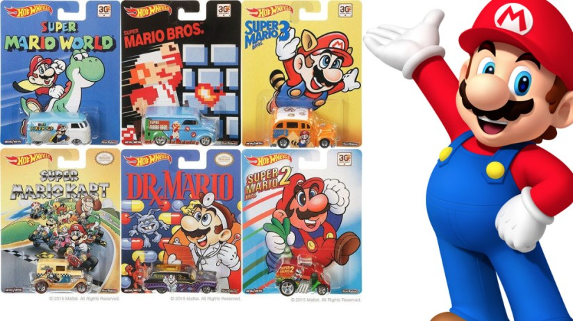 Super Mario-Themed Hot Wheels Cars Are Coming In October