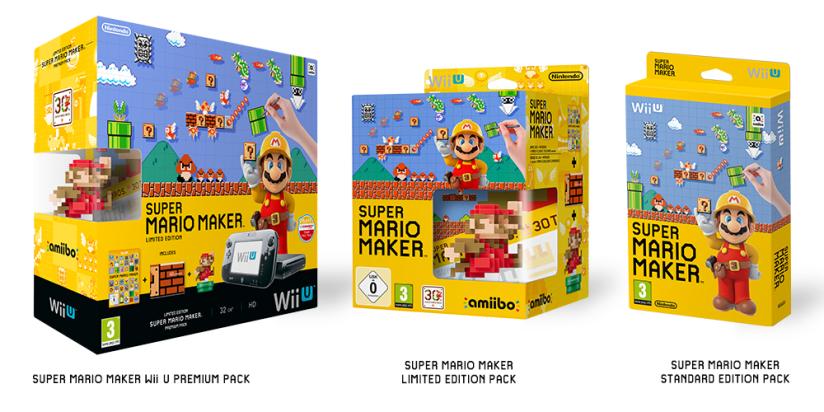 Super Mario Maker Wii U Bundle Heading ToEurope