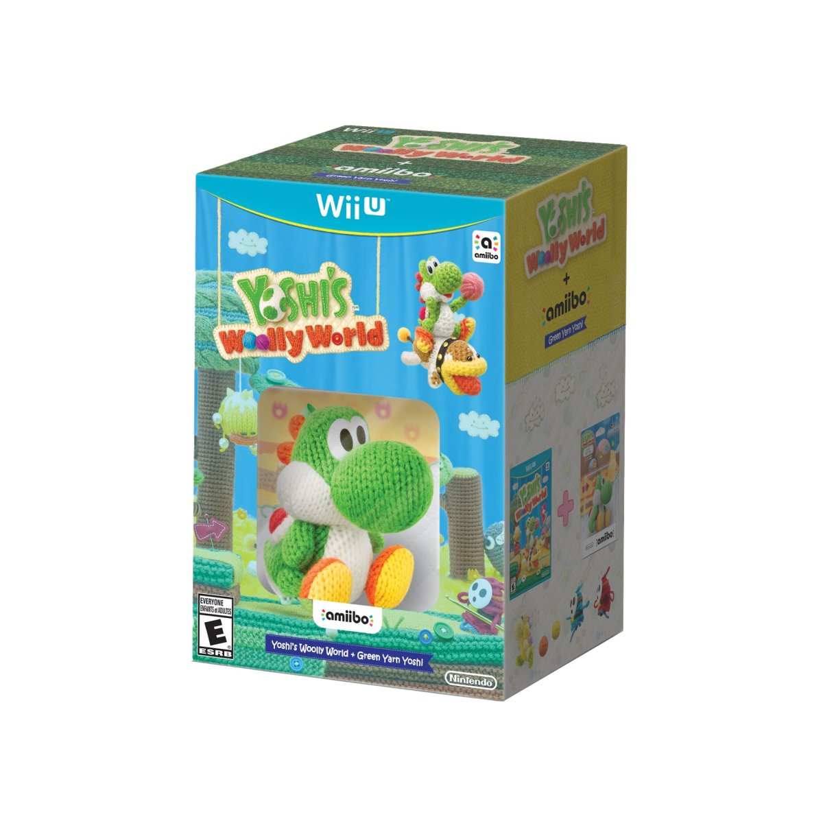 Here's The North American Yoshi's Woolly World Amiibo Bundle