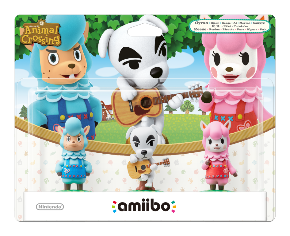 Walmart: Animal Crossing Amiibo Three Pack Available For Preorder