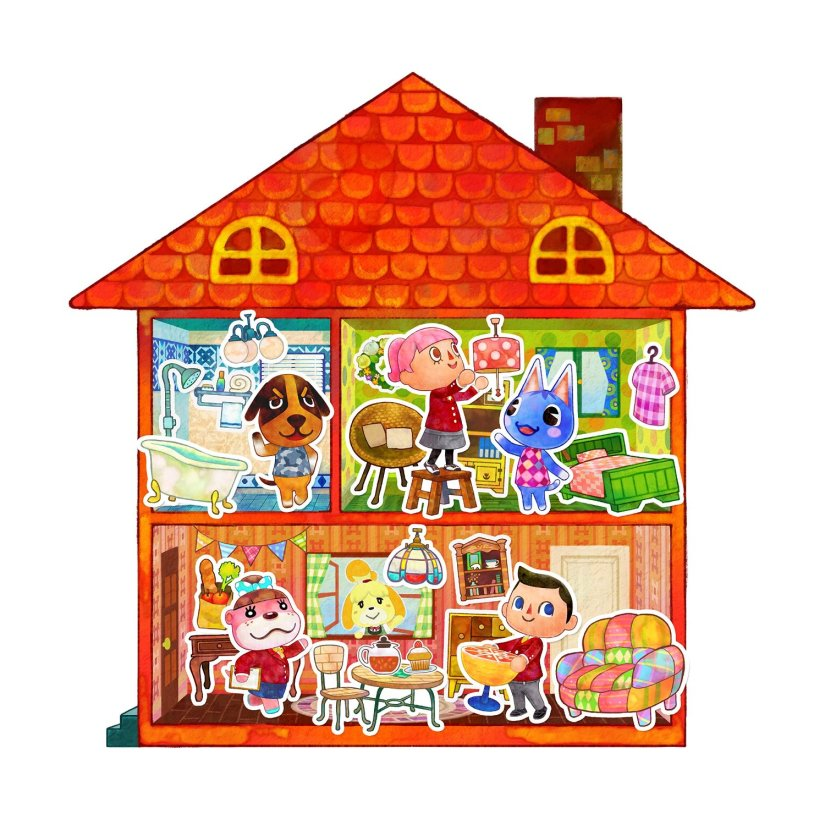 Here's The TV Commercial For Animal Crossing: Happy HomeDesigner