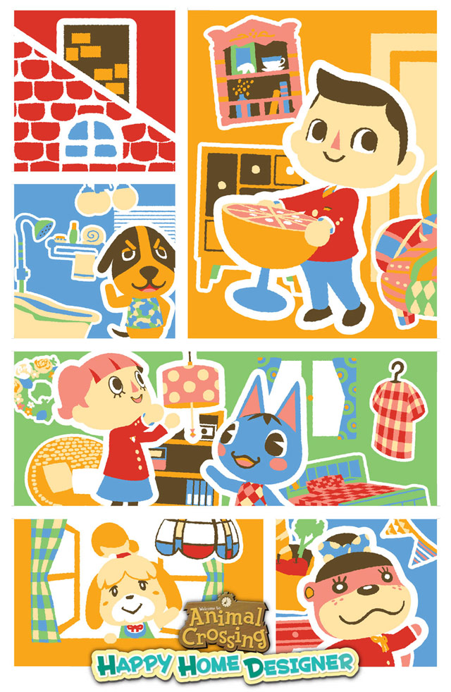 Animal Crossing: Happy Home Designer Pre-Orders From GameStop Come With Poster  My Nintendo News