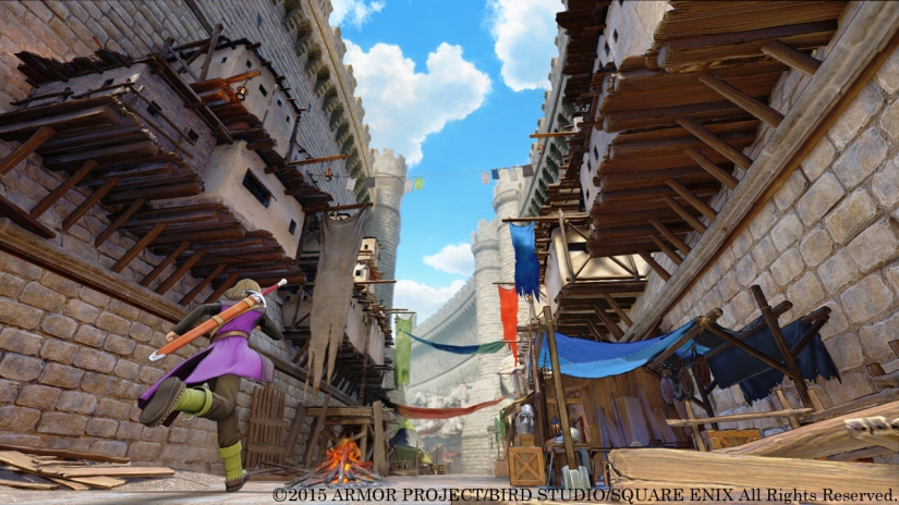 Here's The First Dragon Quest XI Screenshots
