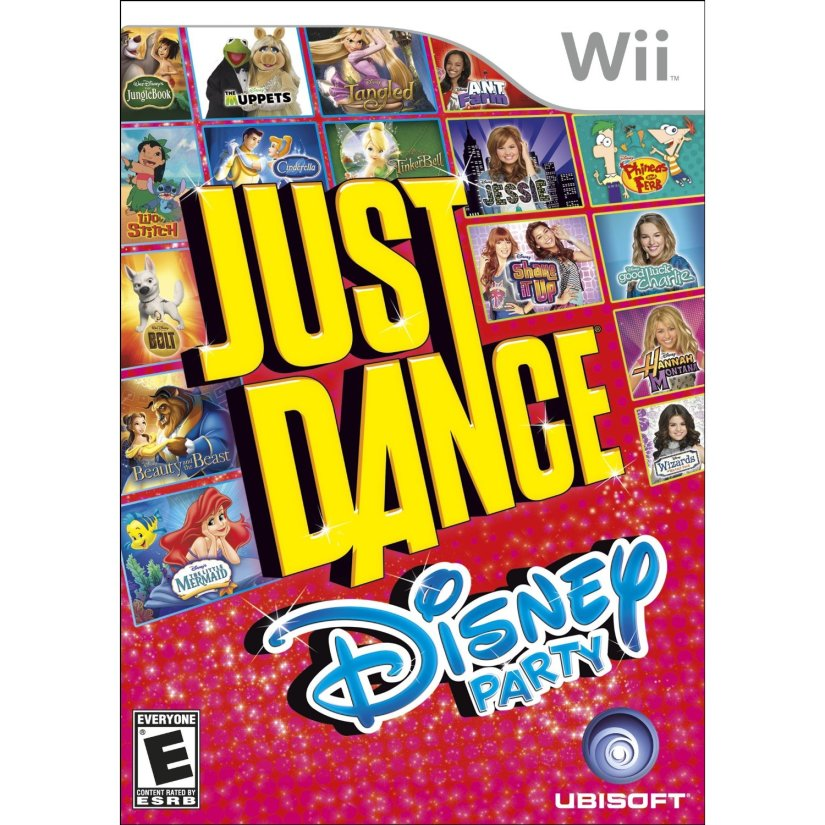 Amazon Spain Lists Just Dance: Disney Party 2 For Wii U And Wii