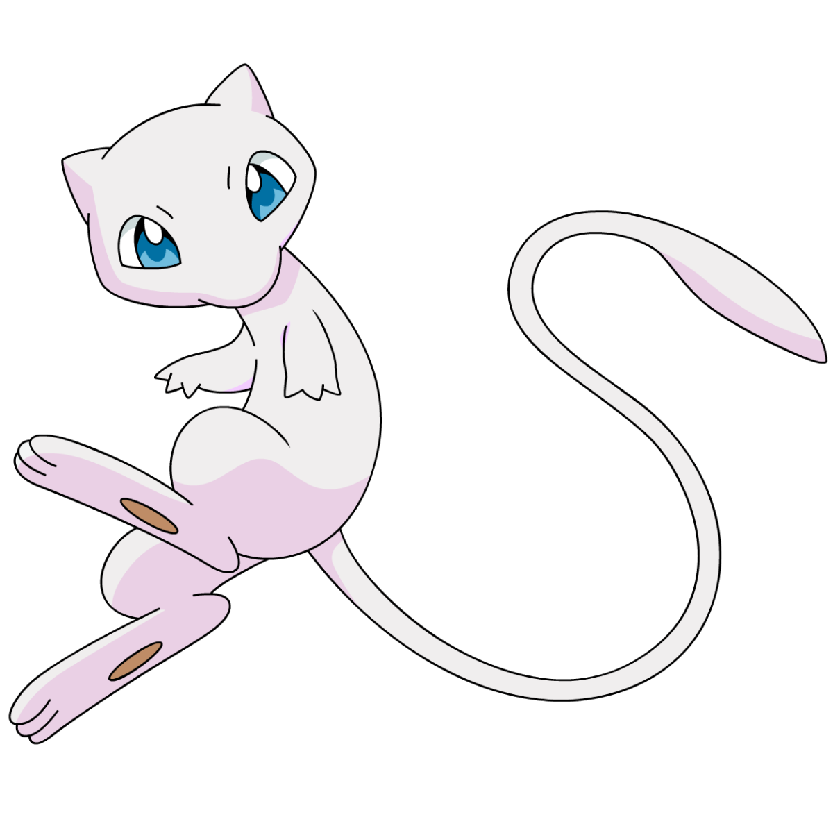 Mew my nintendo news for Coloring pages of mew