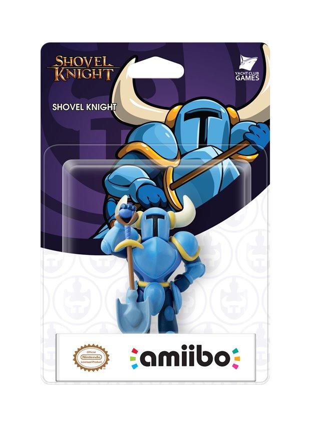 Shovel Knight Amiibo Made At Same Factory As Disney InfinityFigures
