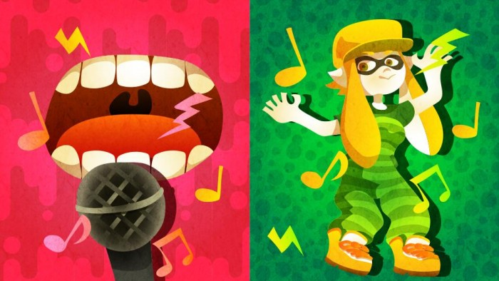 Nintendo of Europe's Latest Splatfest Pits Singing Against Dancing InSplatoon