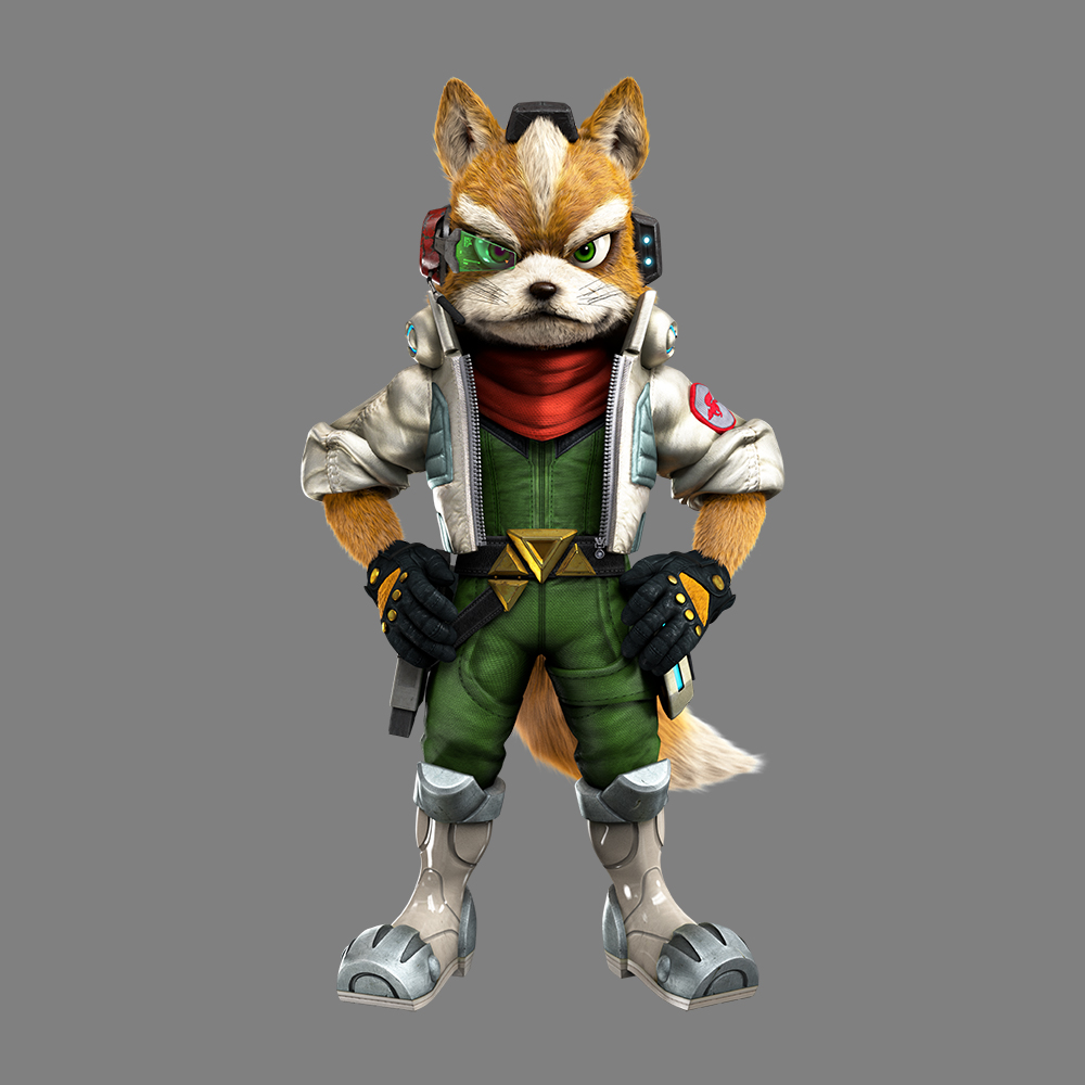 Here's Some Gorgeous Star Fox Zero CharacterArt