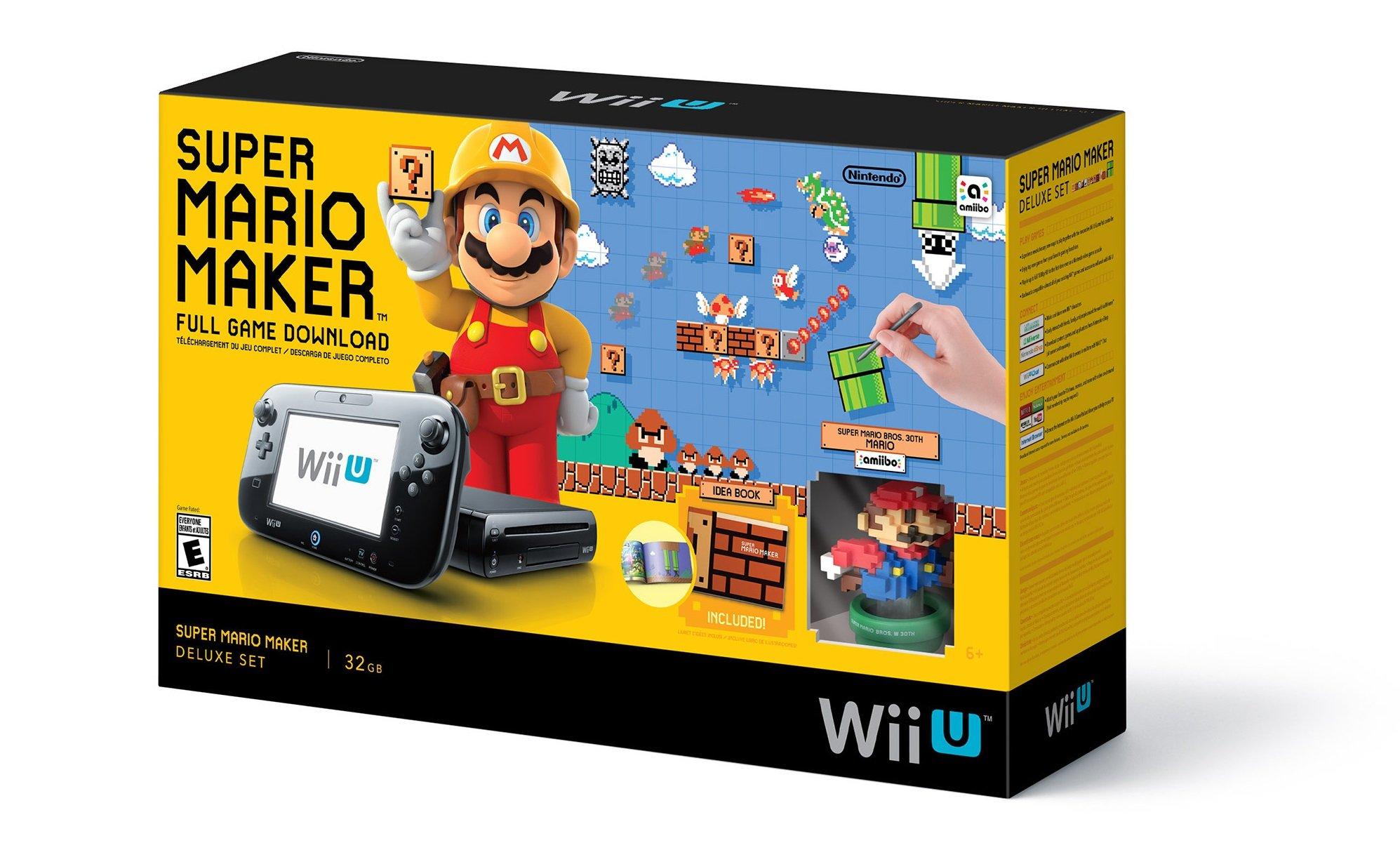 Super Mario Maker Wii U Console Bundle Up On Walmart – My Nintendo ...