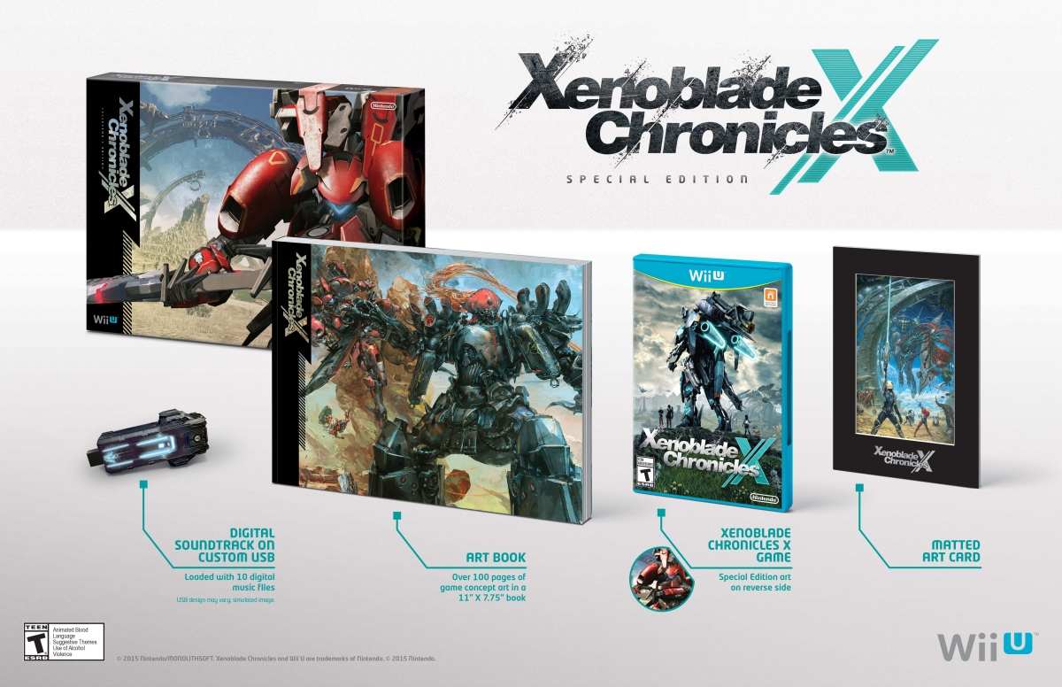 Amazon Canada: Xenoblade Chronicles X: Special Edition Available