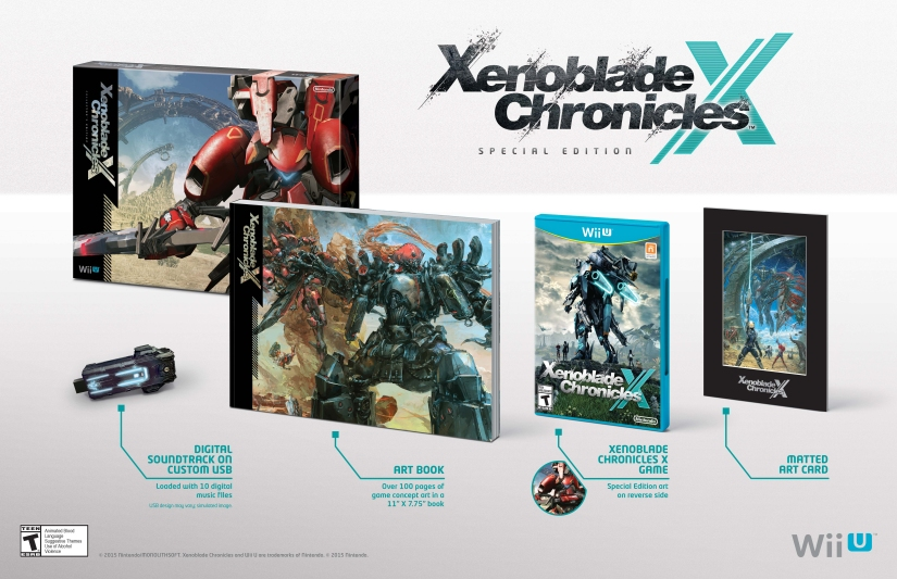 Nintendo Announces $90 Xenoblade Chronicles X Special Edition