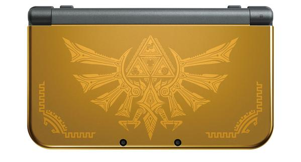 GameStop: Hyrule Gold Edition New Nintendo 3DS XL Available