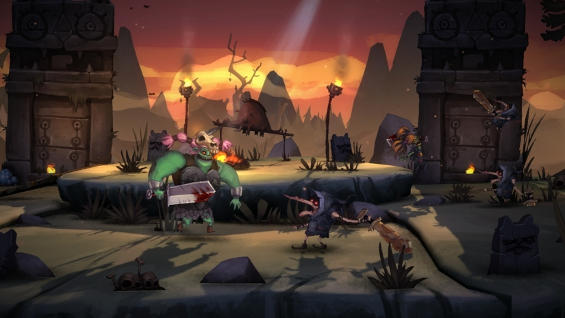 Zoink Games Announces Comical Story-Brawler Zombie Vikings For WiiU