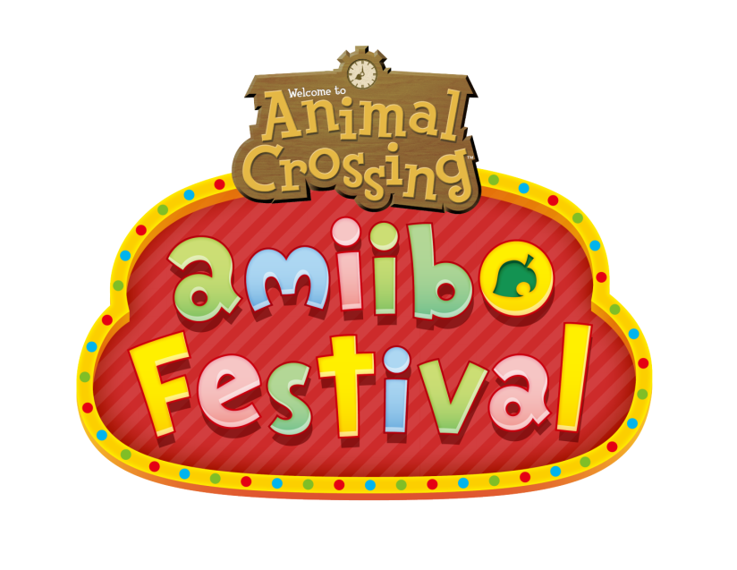 Animal crossing amiibo festival mimigames trailer  Animal_crossing_amiibo_festival_logo