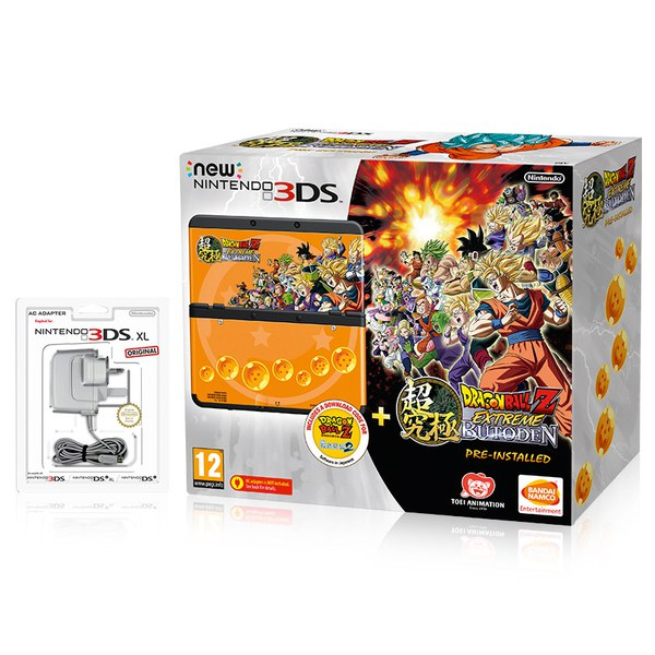 New Nintendo 3DS + Dragon Ball Z: Extreme Butoden Pack Now Available On NintendoUK