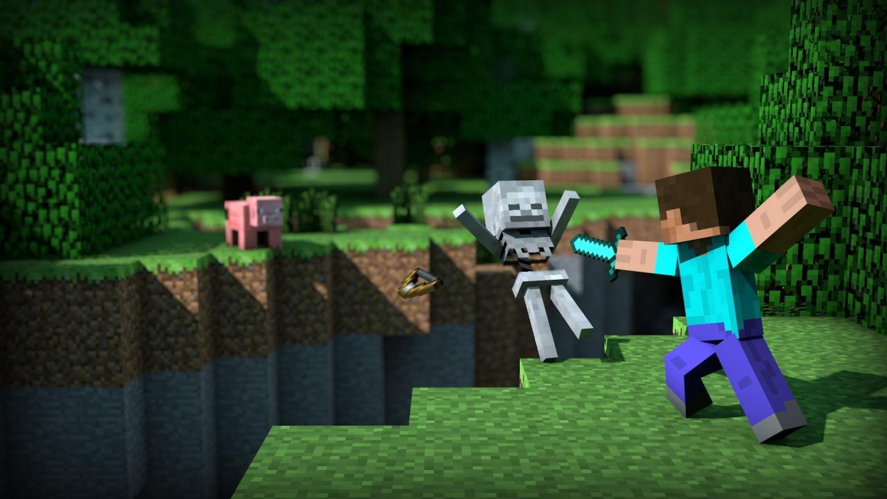 Video: Minecraft Switch Split Screen Gameplay   My Nintendo News