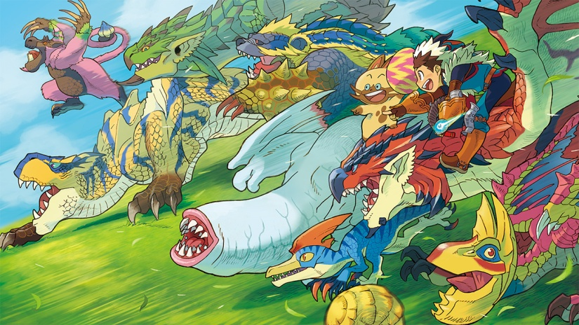 Take A Look At New Monster Hunter Stories Footage