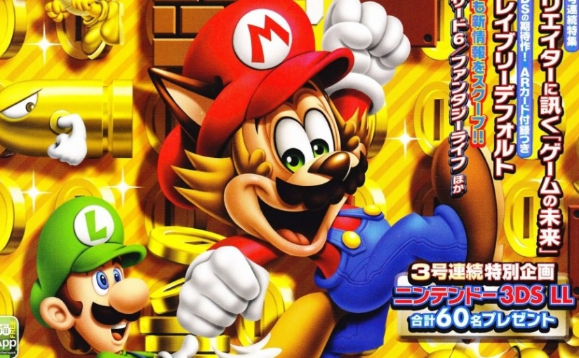 Famitsu Mascot Will Be Joining Super Mario Maker As An 8-Bit Costume ...