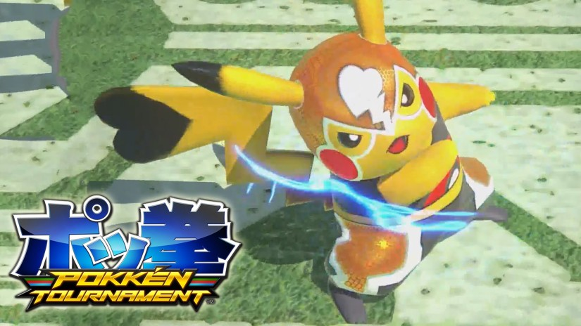 """Check Out The Pokken Tournament """"Masked Pikachu""""Trailer"""
