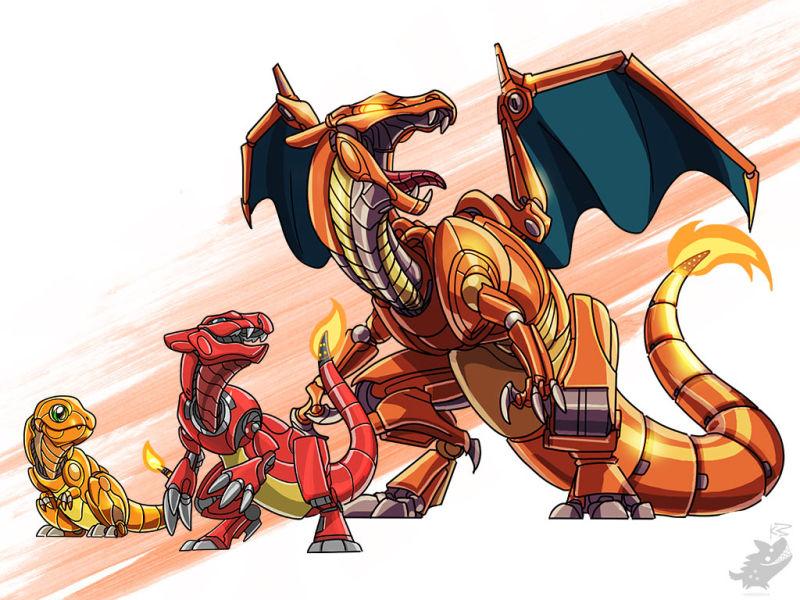Here's Pokemon Envisioned AsMecha