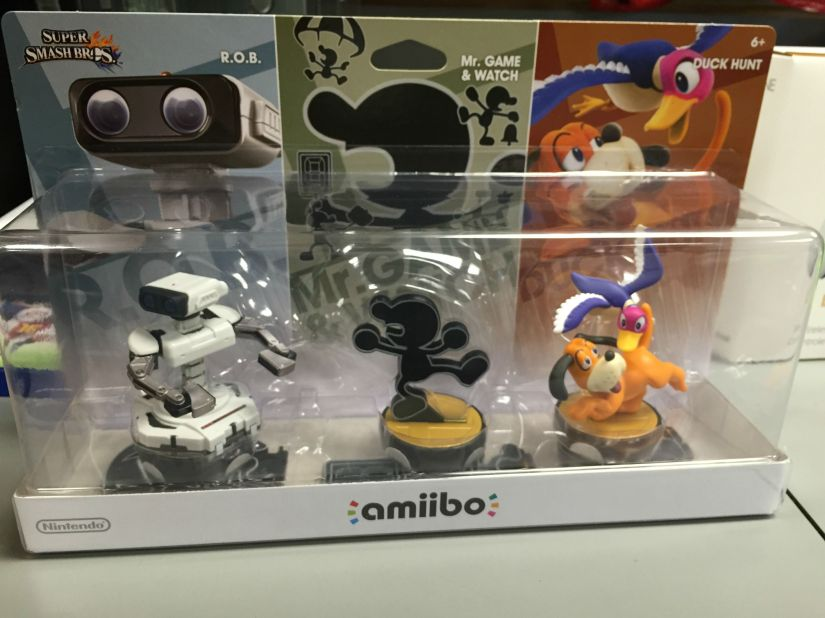 Take A Look At The Amiibo Retro3-Pack