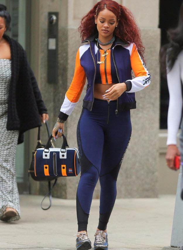 Rihanna Dressed Up Like A Pokemon GymLeader
