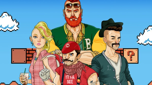 super_mario_bros_hipster_characters