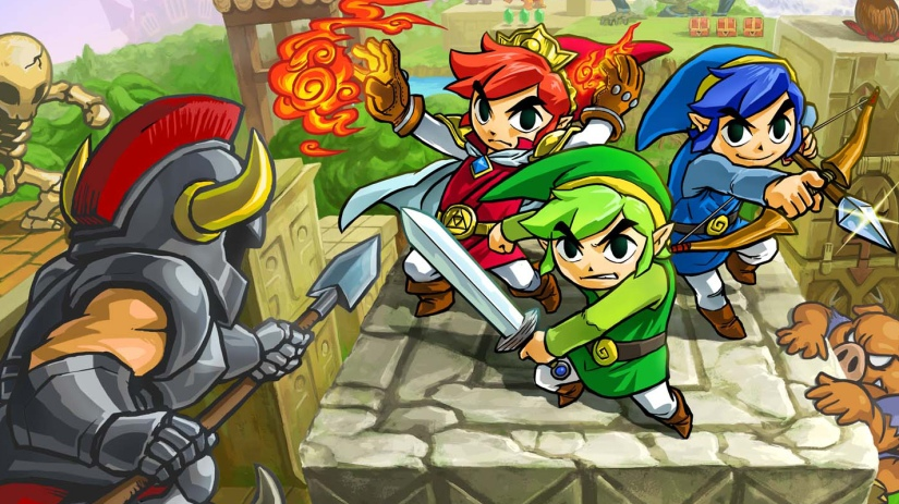 Secret Message In The Legend Of Zelda: Tri Force Heroes Revealed To Be Easter Egg