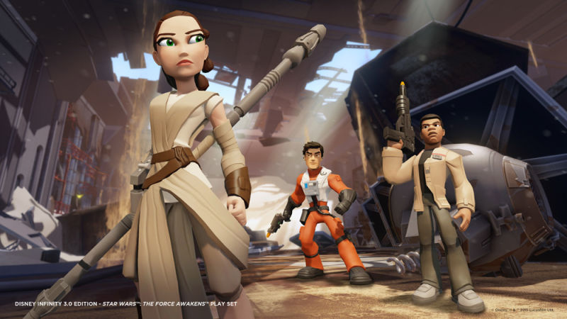 Star Wars: The Force Awakens Characters Are Making It To DisneyInfinity