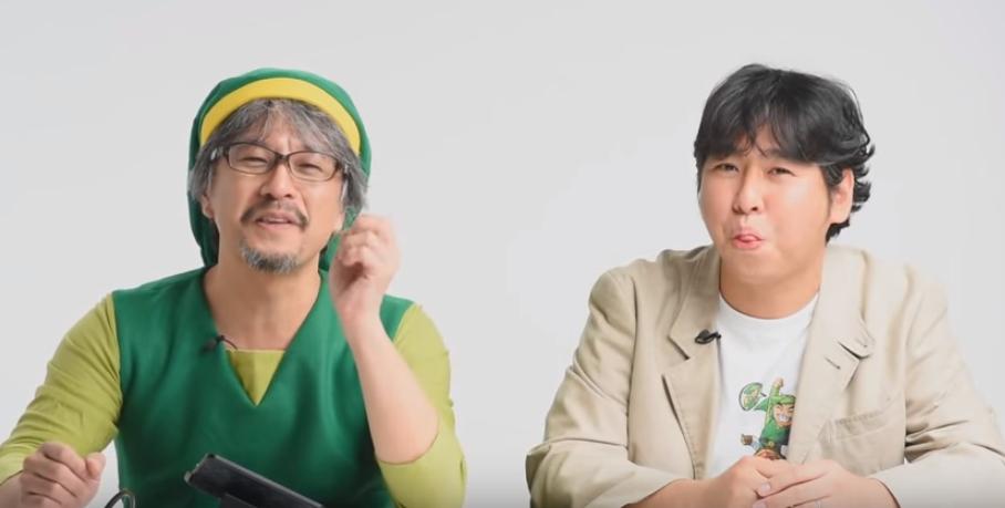 Eiji Aonuma Plays The Legend Of Zelda: Tri Force Heroes With HiromasaShikata