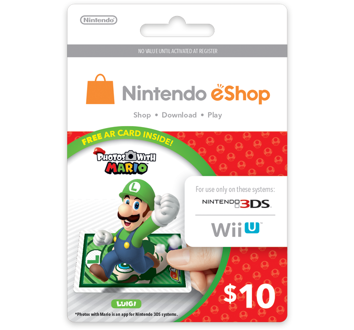 Bowser, Koopa Troopa and Luigi Cards Included In $10.00 eShop Cards ThisFall