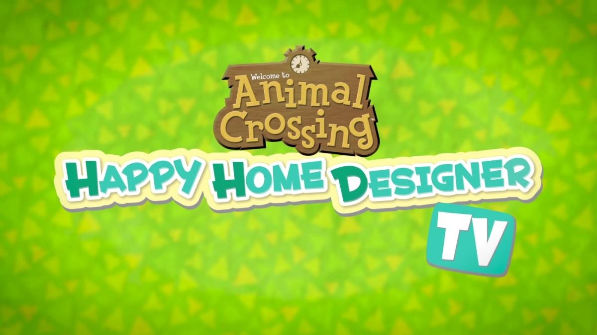 Nintendo launches animal crossing happy home designer tv - Animal crossing happy home designer bundle ...