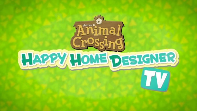 Nintendo Launches Animal Crossing: Happy Home DesignerTV