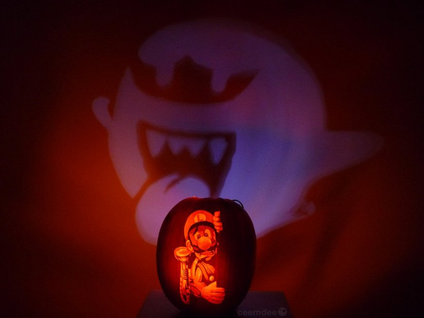 This Is The Coolest Nintendo Jack-o'-lantern You've EverSeen