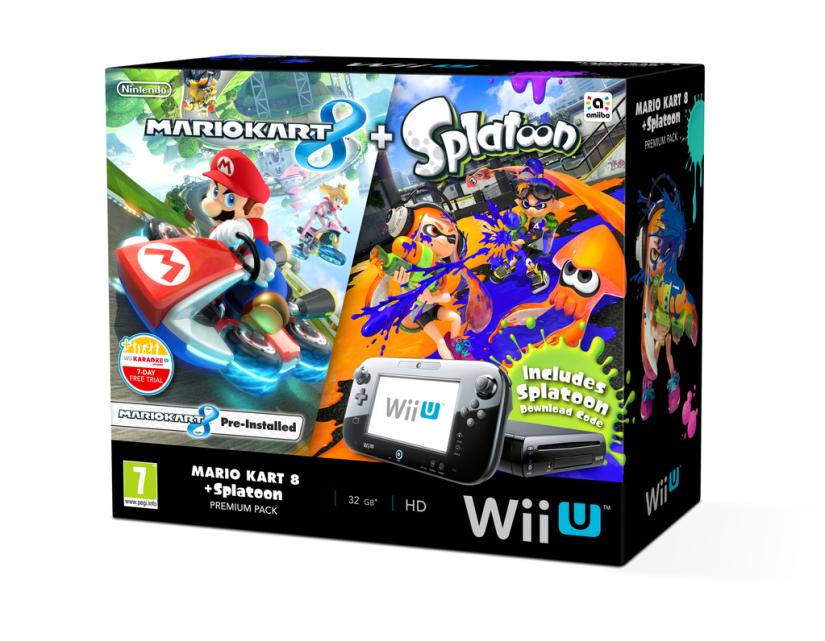 Europe: Nintendo Announces Mario Kart 8 And Splatoon Wii U PremiumPack