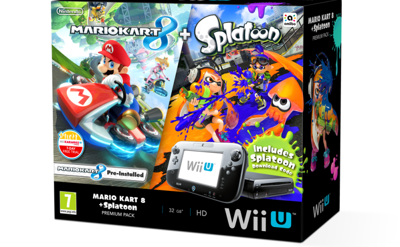 Mario kart 8 splatoon wii u bundle - Wii console mario kart bundle ...