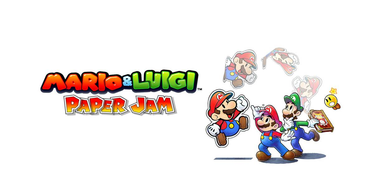 Mario & Luigi Paper Jam For Nintendo 3DS Coming December In Japan