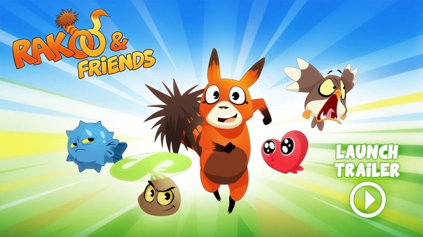 Rakoo & Friends Available Next Week On WiiU